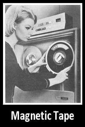 IBM magnetic tape