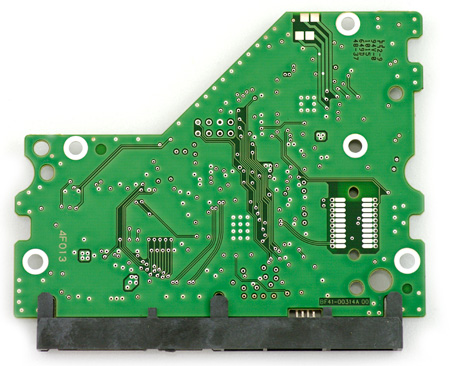 Samsung Spinpoint F4 pcb bottom