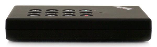 Lenovo ThinkPad eSATA 500GB Secure Hard Drive side