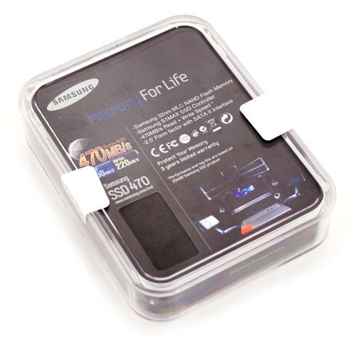 Samsung 470 Series SSD case bottom