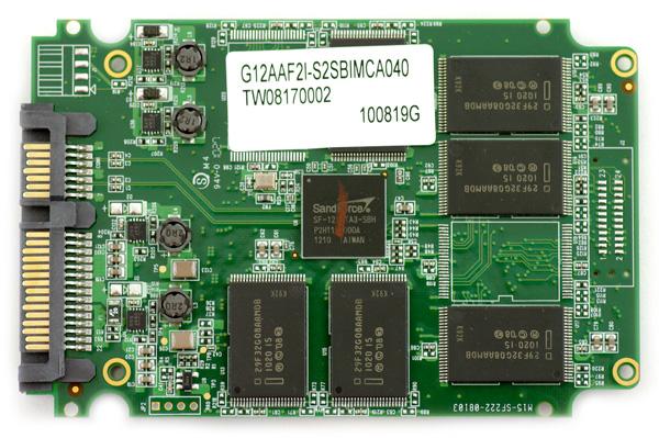G.Skill Phoenix Pro 40GB SSD pcb bottom