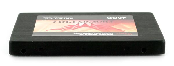 G.Skill Phoenix Pro 40GB SSD side