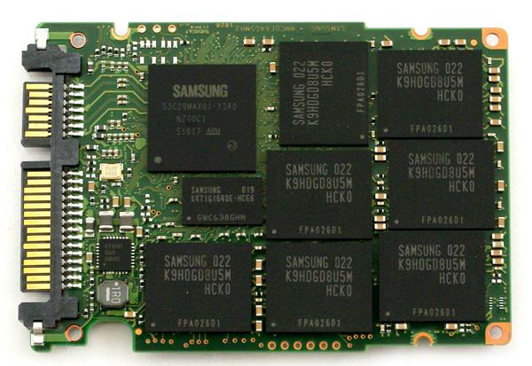 Samsung 470 Series SSD pcb top