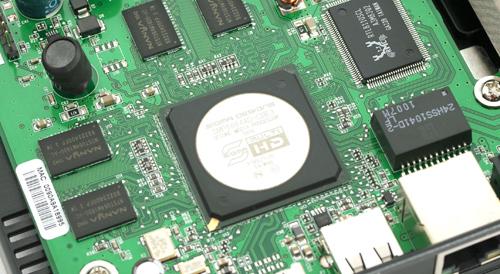 WD TV Live Hub processor