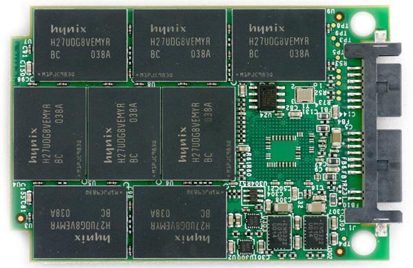 OWC Mercury Aura Pro SSD pcb top