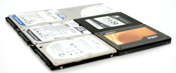 notebook review hard drives ssds