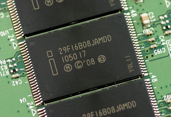 Intel SSD 510 NAND