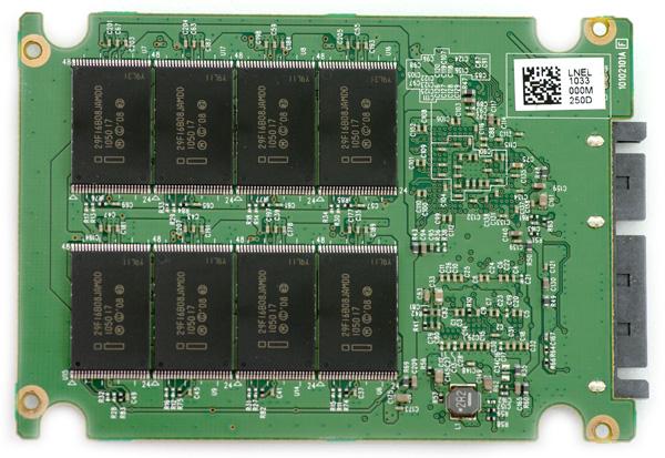 Intel SSD 510 PCB Bottom