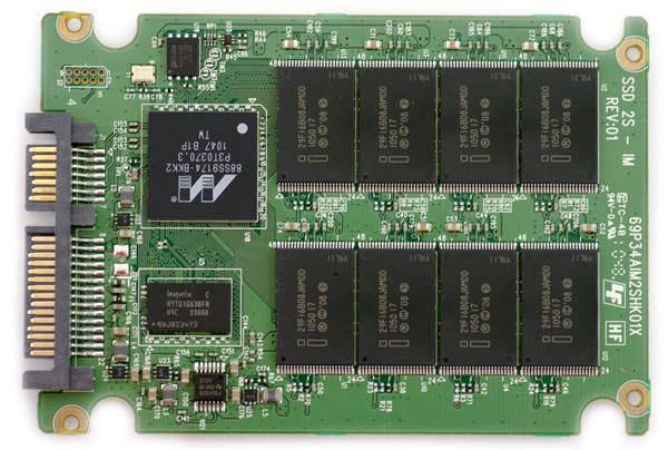 Intel SSD 510 PCB Top