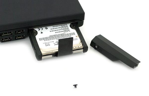 Lenovo ThinkPad T410 drive bay