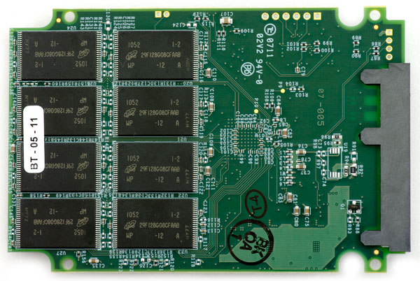 OCZ Vertex 3 pcb bottom