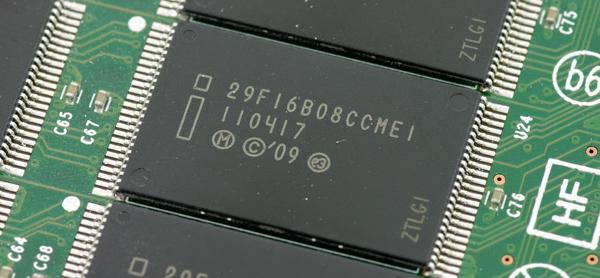Intel SSD 320 nand