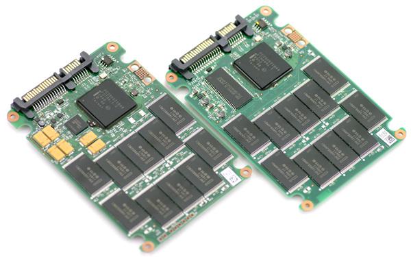 Intel SSD PCB Comparison