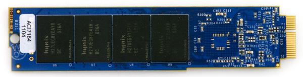 OWC Mercury Pro Aura Express SSD pcb bottom