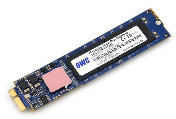OWC Mercury Pro Aura Express SSD top