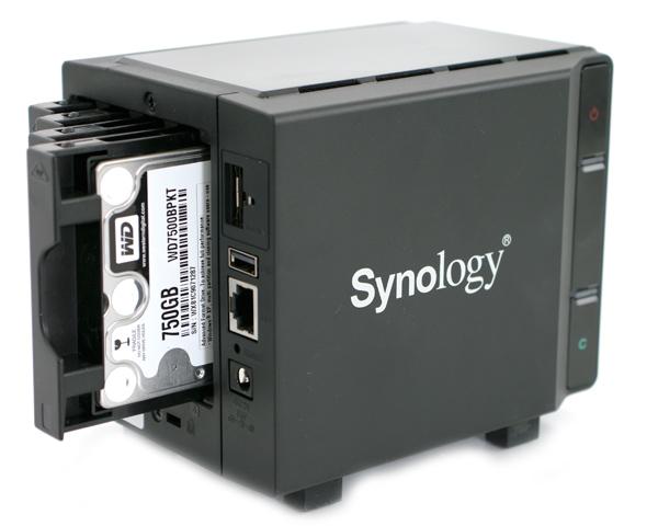 Synology DiskStation DS411slim back