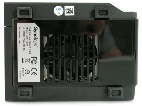 Synology DiskStation DS411slim bottom