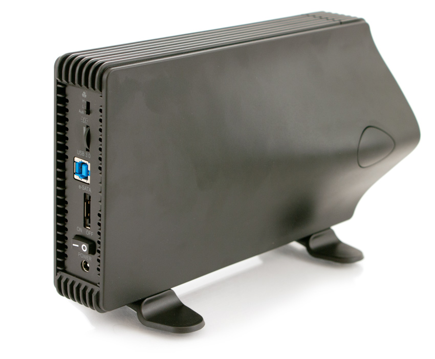 "Icy Dock Blizzard 3.5"" SATA External Hard Drive Enclosure."