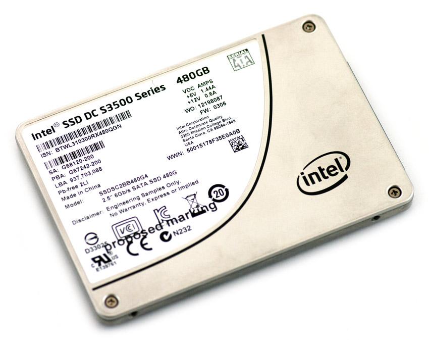 """Intel 2.5/""""  S3500 120GB  SSD SOLID STATE SSD Drive SATA"""