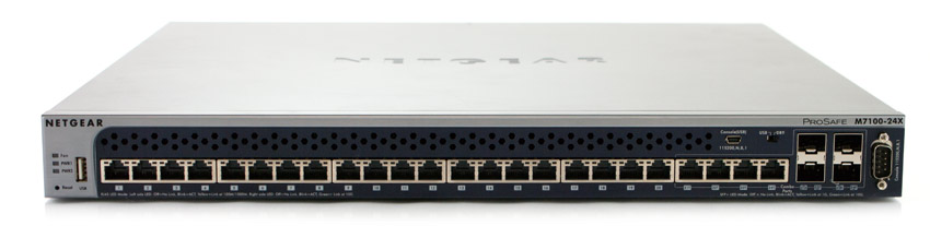 Netgear M7100 Switch Review Xsm7224 Storagereview Com