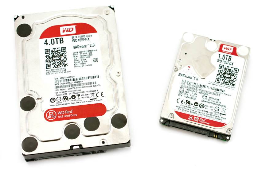 Western Digital WD40EFRX Red IntelliPower 4TB SATA 6GB 3.5 Inch HDD Hard Drive