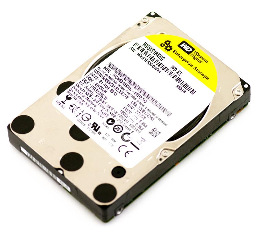 Western Digital S25 900GB Internal 10k RPM 3.5 inch WD9001BKHG HDD