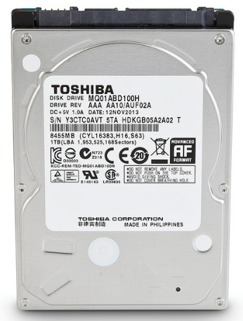 Toshiba 2 5 Inch Solid State Hybrid Drives For Notebooks Released Storagereview Com