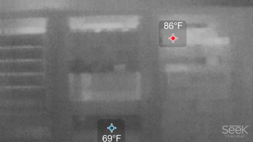 In The Lab Seek Thermal Camera Storagereview Com