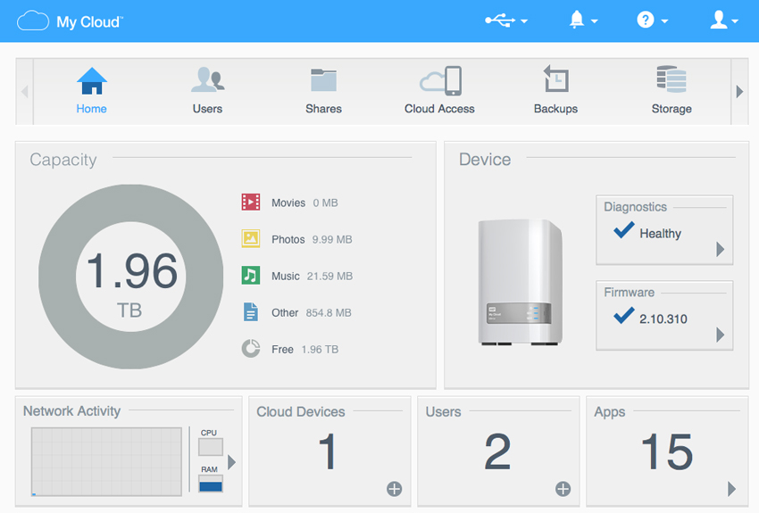 Wd My Cloud Os 3 Review Storagereview Com