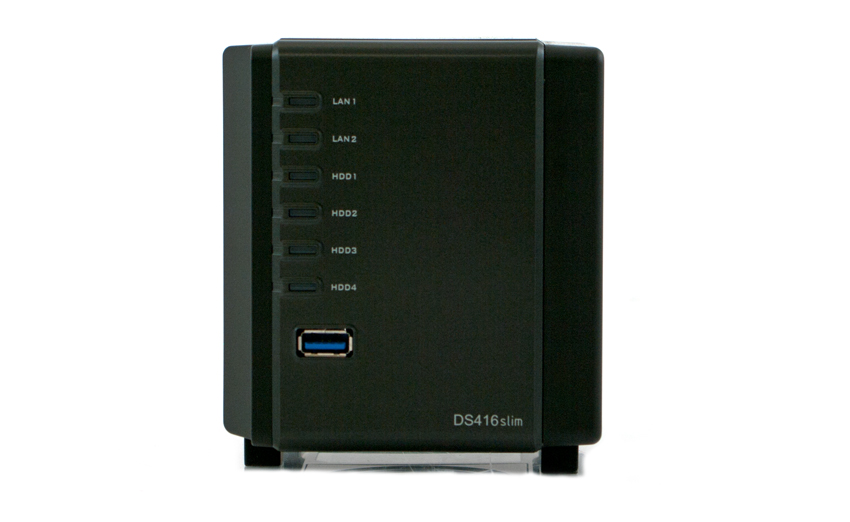 Synology Diskstation Ds416slim Review Storagereview Com