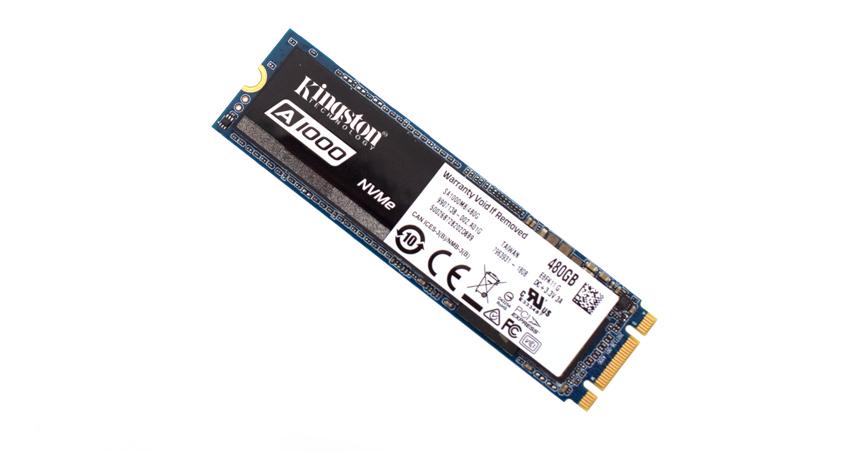 Kingston A1000 M.2 2280 480GB PCI-E 3.0 x2 3D TLC Internal SSD SA1000M8//480G
