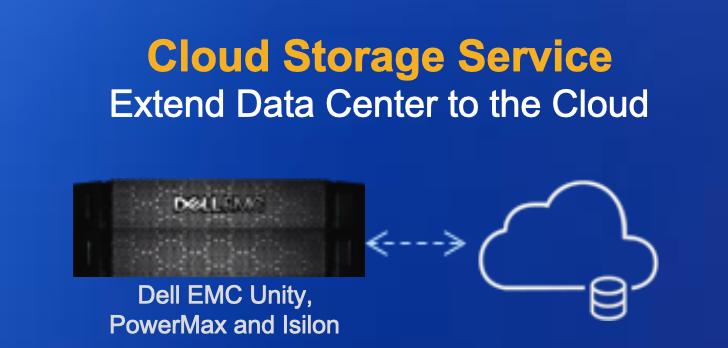 Dell EMC Cloud Storage Service