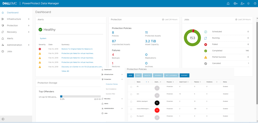 Dell EMC PowerProtect Data Manager