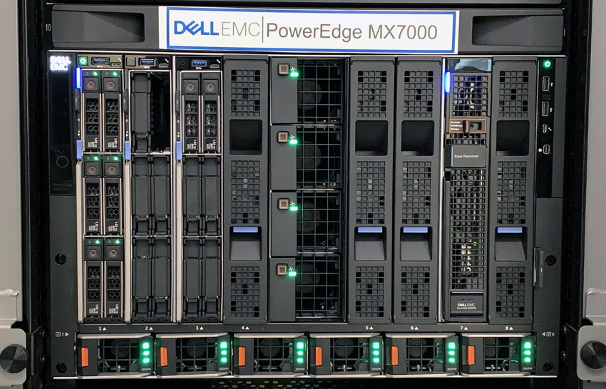Dell EMC PowerEdge MX7000
