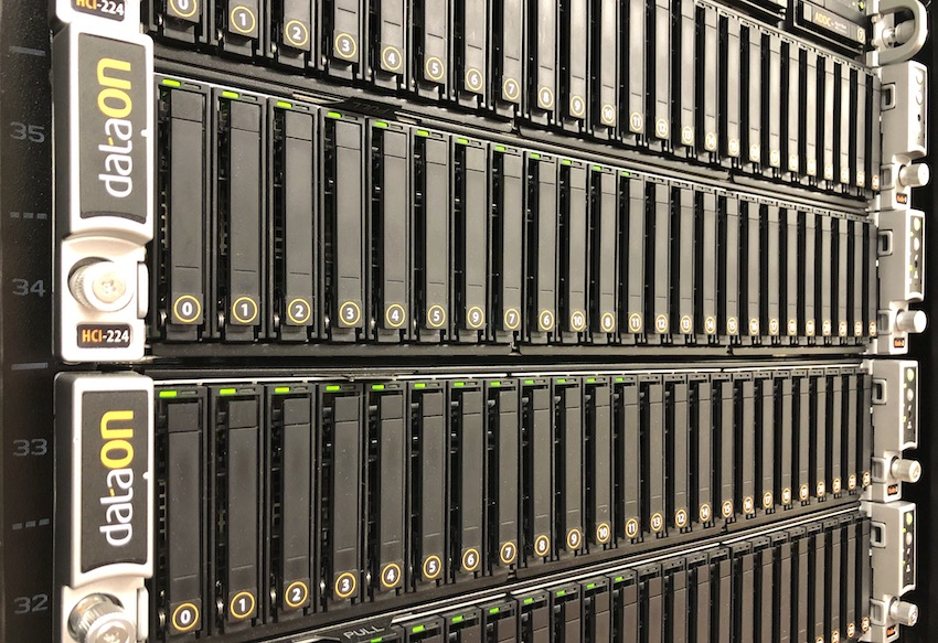 StorageReview DataON HCI-224 Cluster