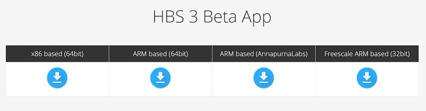QNAP Hbs 3 beta versions