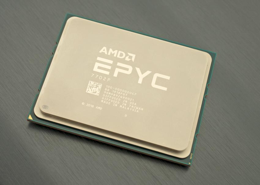 AMD EPYC Rome CPU VMware