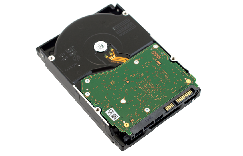 WD Red HDD back