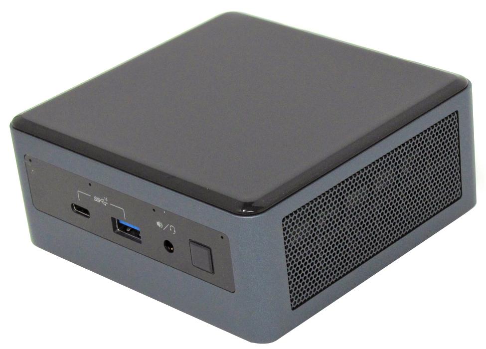 Intel NUC 10 NUC10i7FNH front