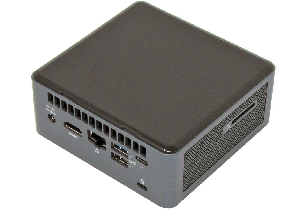 Intel NUC 10 NUC10i7FNH ports