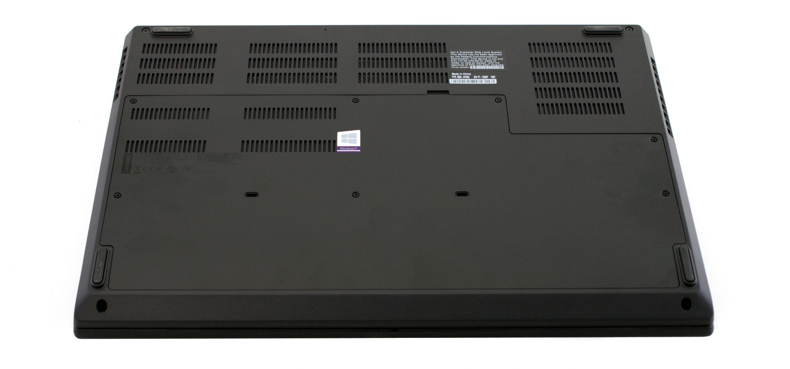 Lenovo ThinkPad P73 Bottom