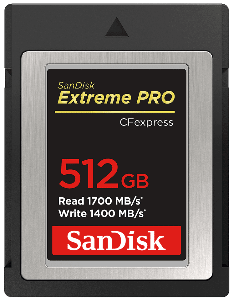SanDisk Extreme Pro CFexpress Card Type B