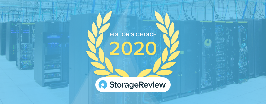 StorageReview 2020 Editor's Choice