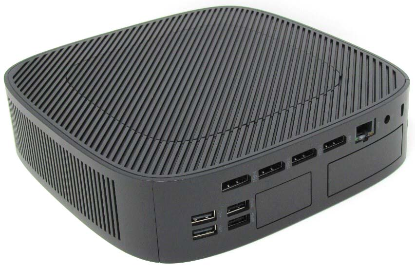 HP t740 ports