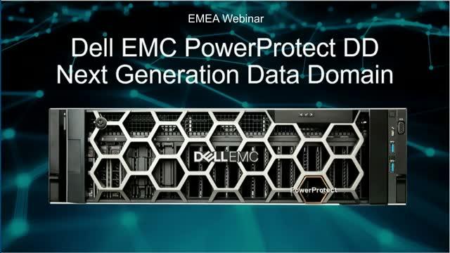 Dell EMC PowerProtect DD