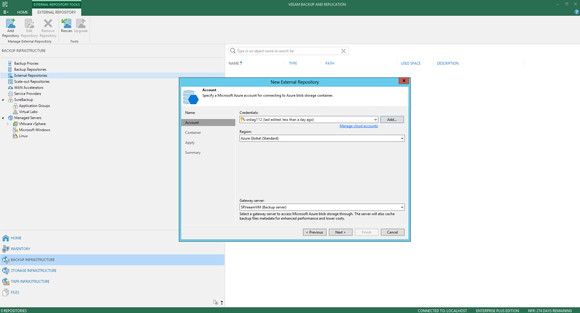 Veeam Backup For Microsoft Azure 30