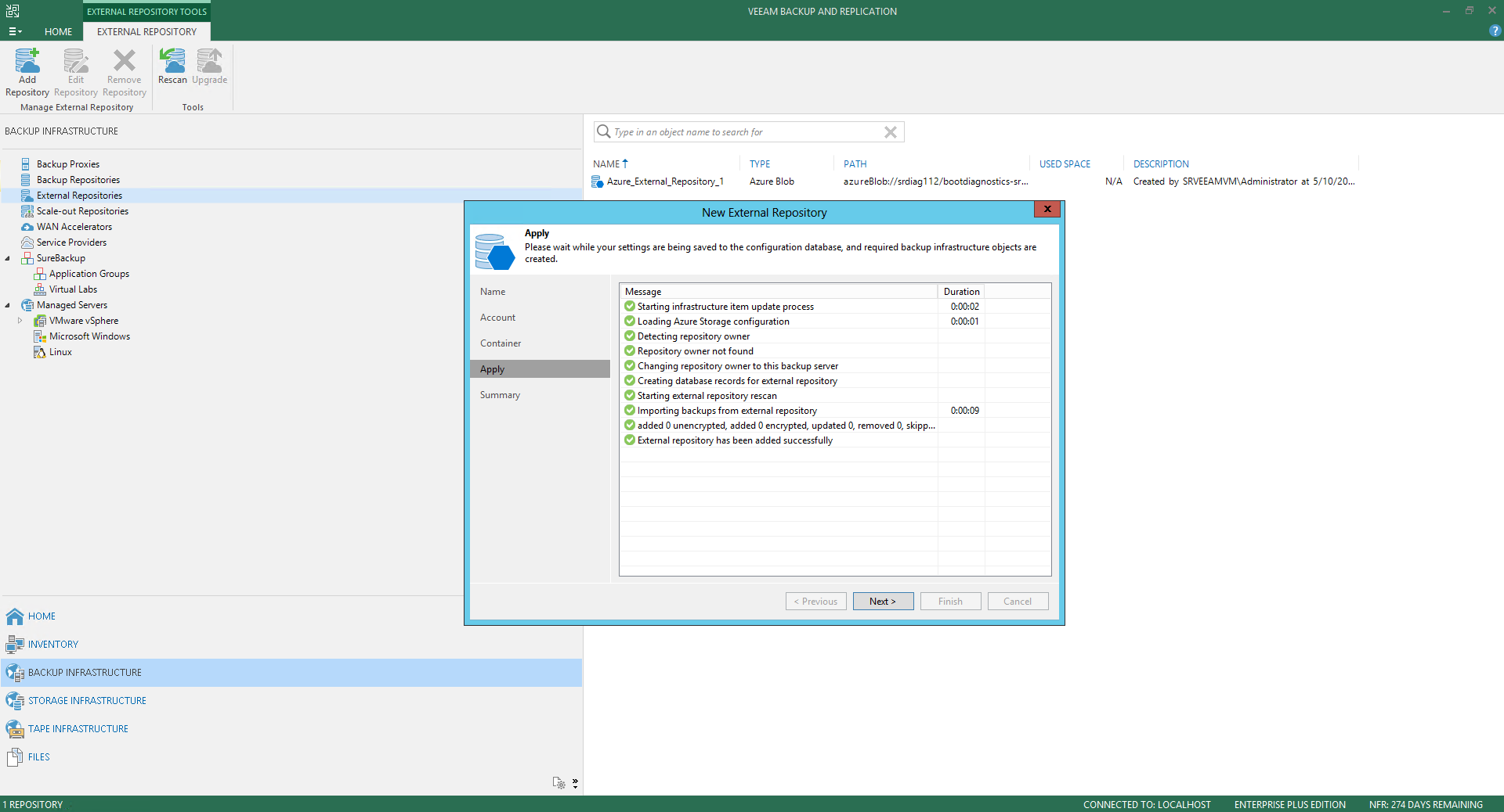 Veeam Backup For Microsoft Azure 32