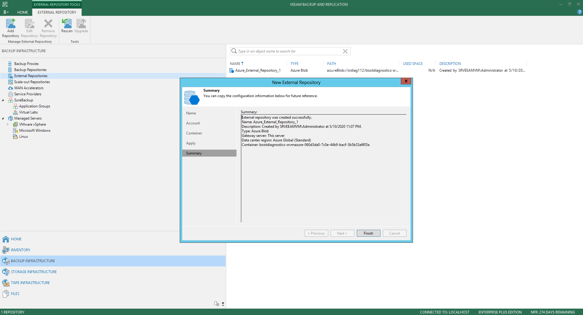 Veeam Backup For Microsoft Azure 33
