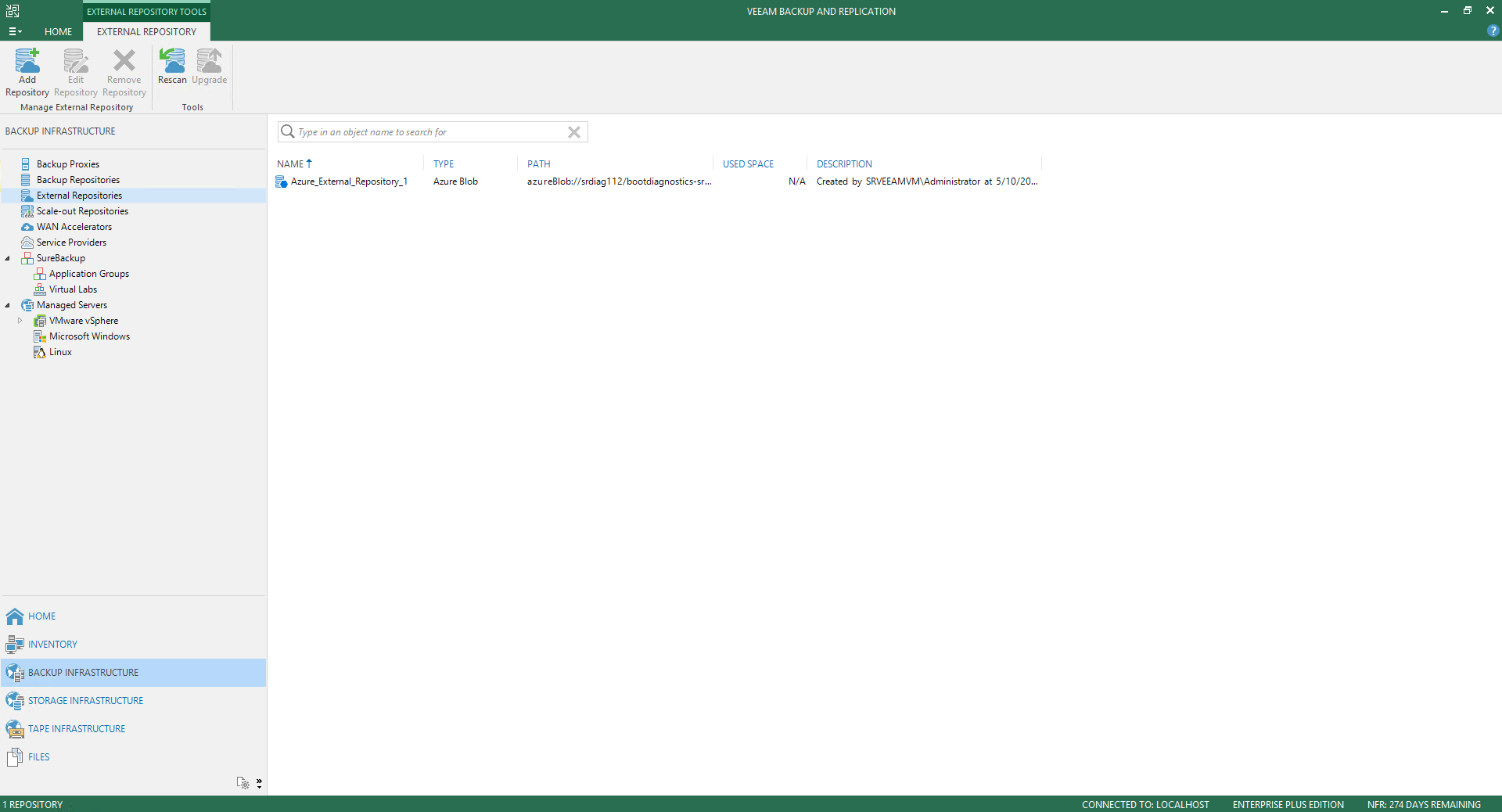 Veeam Backup For Microsoft Azure 34