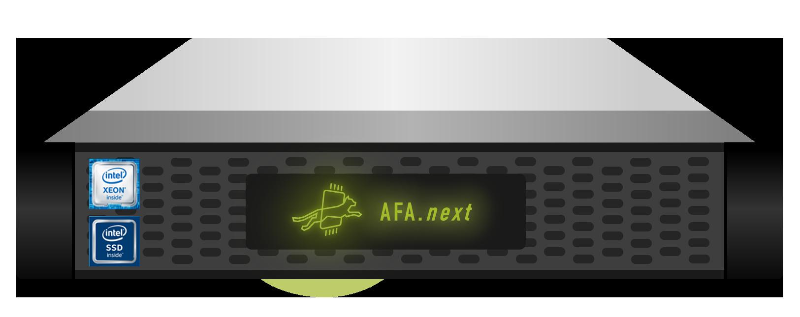 StorONE AFAn Intel Optane